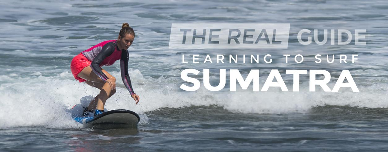 Learning to surf in South Sumatra