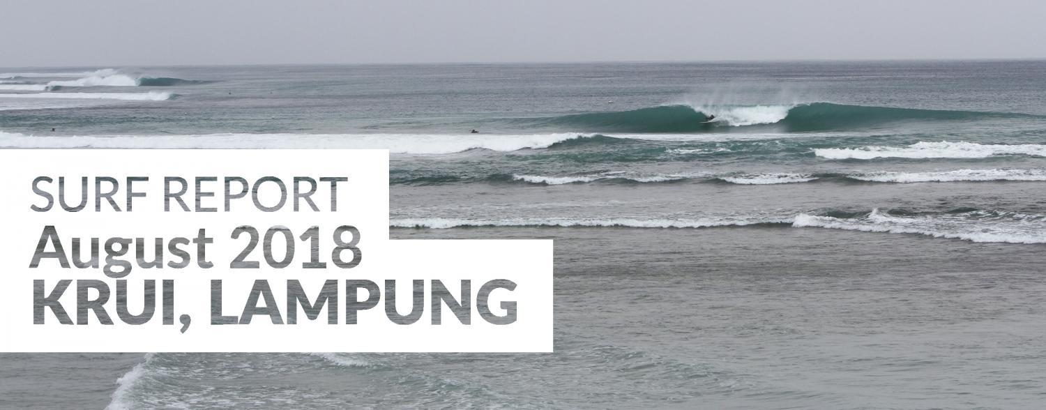 South Sumatra, Surf Report August 2018