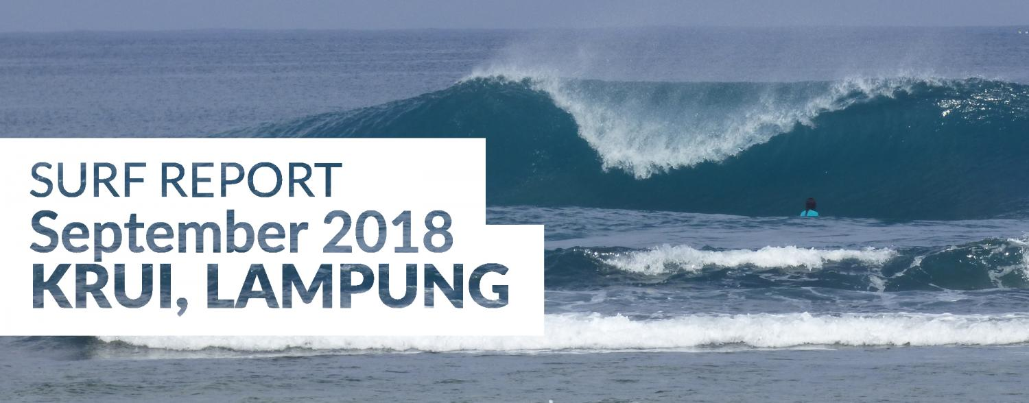 South Sumatra September Surf Report