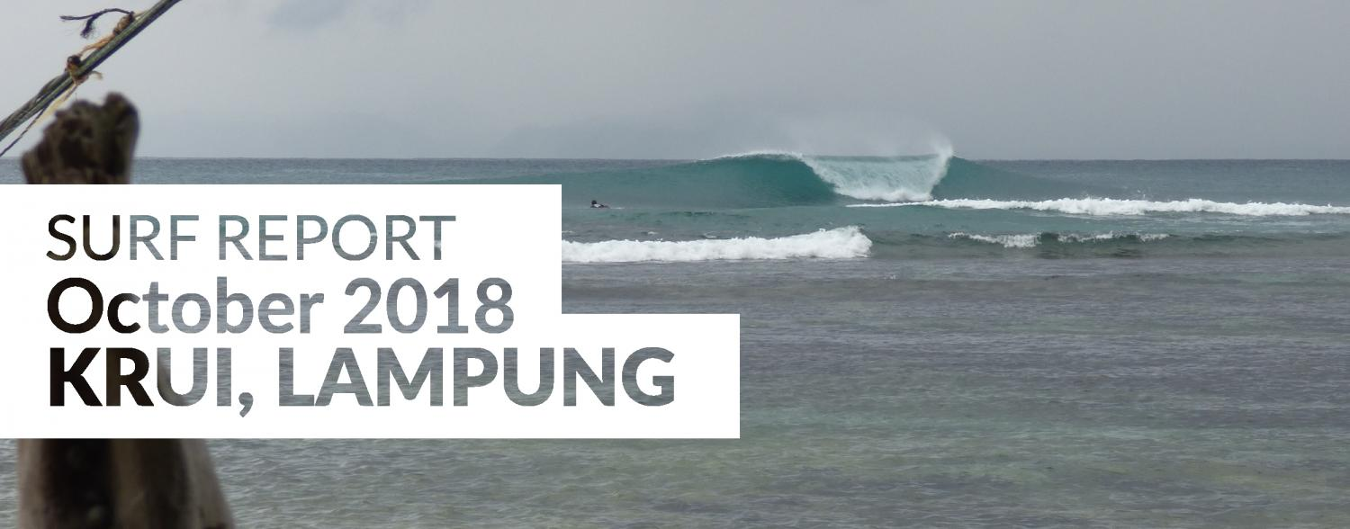 Krui surf report, South Sumatra