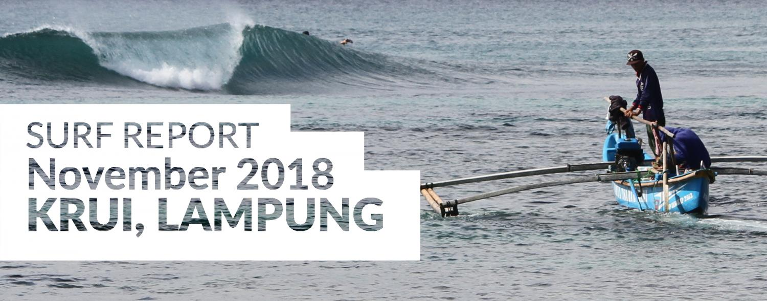 Southern Sumatra surf report November 2018