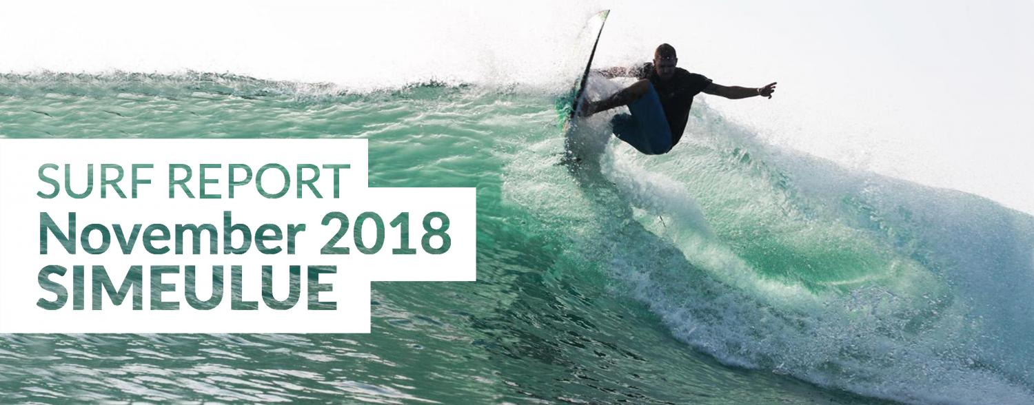 Simeulue surf report November 2018