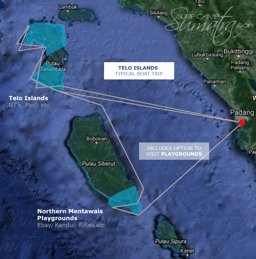 Telo Islands Map